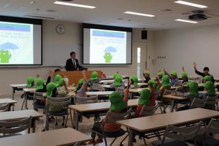 石田保育園 交通安全教室