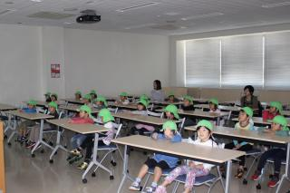 石田こども園 交通安全教室