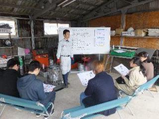 平成30年 4月 8日 第7回タイヤ交換実践塾が開催されました