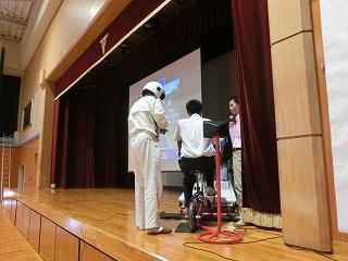 平成29年 9月11日 高岡商業高校で自転車安全講習が開催されました!