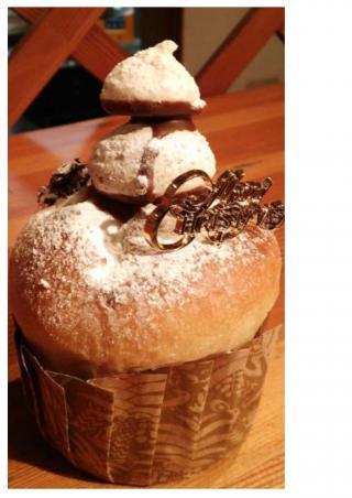 H28.12.24クリスマスプレゼント(パンケーキ)